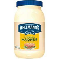 Maionese Regular Hellmann's 500g - Cod. 7894000050034