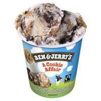 Sorvete Ben&Jerry's Cookie Affair 458ML | Caixa com 8 - Cod. 76840000531C8