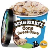 Sorvete Ben&Jerry's Cone Sweet Cone 12x120ML - Cod. 76840000609C12
