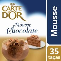 Sobremesa Carte Dor Mousse Chocolate 400g - Cod. C15046