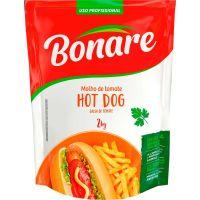 Molho De Tomate Bonare Hot Dog Pouch 2kg - Cod. 7898905153814