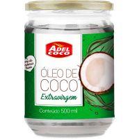 Óleo De Coco Adelcoco Extra Virgem 500ml - Cod. 7896552906494