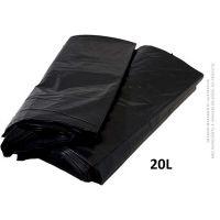 Saco De Lixo Preto MuLlixo 20L  | Caixa com 15 unidades - Cod. 7895095596711C15