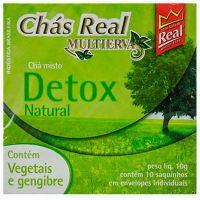 Chá Real Misto Detox 15g | Caixa com 5 unidades - Cod. 7896045000418C5