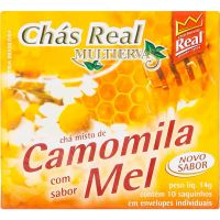 Chá Real Camomila Com Mel 14g - Cod. 7896045024445
