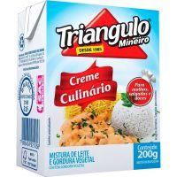 Creme De Leite Triângulo Culinário Tp 200g | Caixa com 27 unidades - Cod. 7896434921058C27