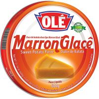 Doce Marron Glacê Olé Lata 400g   Caixa com 12 unidades - Cod. 7891032018452C12
