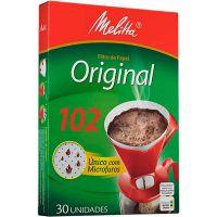 Fitro De Café Papel Melitta 102    Caixa com 30 unidades - Cod. 7891021001908C6