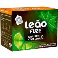 Chá Matte Leão Preto Com Limão 15g | Caixa com 10 unidades - Cod. 7891098038753C10