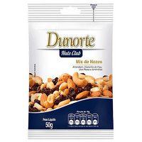 Nozes Dunorte Sem Casca 50g   Caixa com 20 unidades - Cod. 7896029601037C20