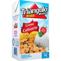 Creme De Leite Triângulo Culinário Tp 1kg | Caixa com 12 unidades - Cod. 7896434921027C12