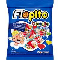 Pirulito Flopito Coração Colorido - Cod. 7896321011305