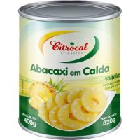 Abacaxi em Rodelas Citrocal 400g - Cod. 7898908141160