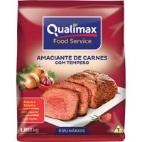 Amaciante De Carne Qualimax Com Tempero 1,01Kg - Cod. 7891122115436