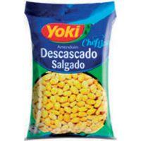 Amendoim Salgado Sem Pele Yoki 500g - Cod. 7891095015344