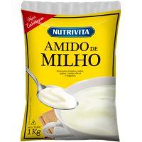 Amido de Milho Nutrivita 1kg | Fardo com 12un - Cod. 7896184800078C12