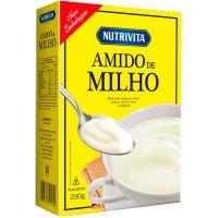 Amido de Milho Nutrivita 200g | Caixa com 12un - Cod. 7896184800061C12