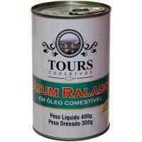 Atum Ralado em Óleo Tours Lata 400g - Cod. 7898932487357