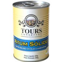 Atum Sólido em Óleo Tours Lata 420g - Cod. 7898932487340