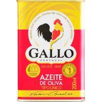 Azeite Puro Português Gallo 200ml - Cod. 5601252231058C10