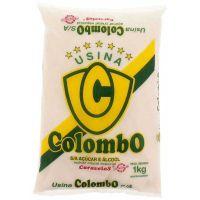 Açúcar Cristal Colombo 1kg - Cod. 7896894900068