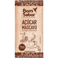 Açúcar Mascavo Bom Sabor 5g com 200 Unidades - Cod. 7896804600866