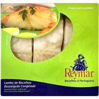 Bacalhau Dessalgado 3 Lombos Reymar 1kg | Caixa com 11un - Cod. 5602772055308C11