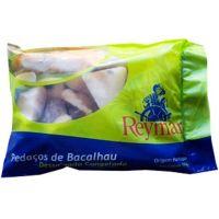 Bacalhau Dessalgado Pedaços Reymar 1kg | Caixa com 10un - Cod. 5602772055216C10