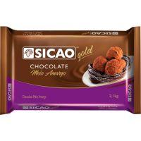Chocolate Sicao Amargo 2,1kg - Cod. 20842033776