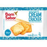 Biscoito Cream Cracker Bom Sabor 9g com 180 Unidades - Cod. 7896804600170