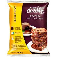 Brownie E Petit Gâteau Docello Nestlé 800g - Cod. 7891000100356