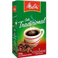 Café Melitta Tradicional Vácuo 500g - Cod. 7891021006125