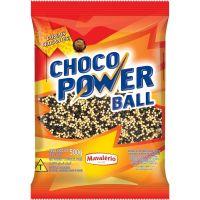 Choco Power Ball Micro Branco e Preto Mavalério 500g - Cod. 7896072641554