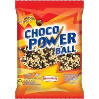 Choco Power Ball Preto e Branco Mini Mavalério 500g - Cod. 7896072641615