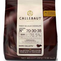 Chocolate Amargo em Gotas 70,5% Callebaut 400g - Cod. 5410522542110