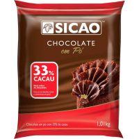 Chocolate em Pó 33% Sicao 1,01kg - Cod. 208420624794