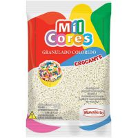 Chocolate Granulado Mil Cores Branco 500g - Cod. 7896072642803