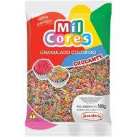 Chocolate Granulado Mil Cores Colorido 500g - Cod. 7896072642889