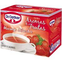 Chá Morango 10 Saquinhos Dr Oetker 10g - Cod. 7891048038369
