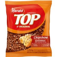 Cobertura Harald Chipshow Sabor Chocolate ao Leite 2,5Kg - Cod. 7897077805842
