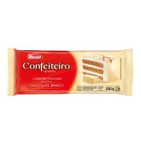 Cobertura Harald Fracionado Confeiteiro Sabor Chocolate Branco 1,050kg - Cod. 7897077820722