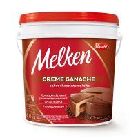 Cobertura Harald Melken Ganache Sabor Chocolate Ao Leite - Cod. 7897077800984