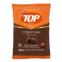 Cobertura Harald Top Gotas Sabor Chocolate Meio Amargo 1,050kg - Cod. 7897077820623