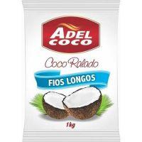 Coco Ralado Adel Coco Fios Longos 1Kg - Cod. 7896552905343