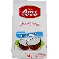 Coco Ralado Adel Coco Fios Longos 5Kg - Cod. 7896552905398