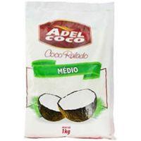 Coco Ralado Adel Coco Médio Desidratado 1kg - Cod. 7896552905367