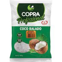 Coco Ralado Fino Úmido e Adoçado Copra 1kg - Cod. 7898905356215