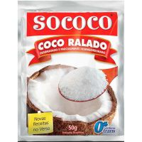 Coco Ralado Sococo 50g - Cod. 7896004400020