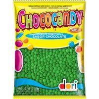 Confeito Dori Chococandy Mini Verde 350g - Cod. 7896058592566