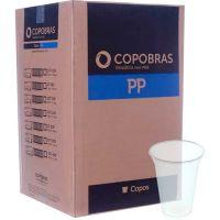 Copo Descartável PP Transparente CFT300 Copobras 300ml com 100 Unidades - Cod. 7896030892684